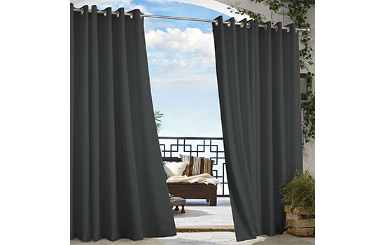 Enhance Your Outdoor Space With Beautiful Colorfast Curtains.