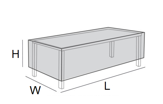 Rectangle Table Cover Measurement